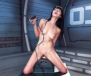 Babe on Sybian Videos